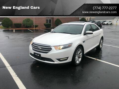 2013 Ford Taurus for sale at New England Cars in Attleboro MA