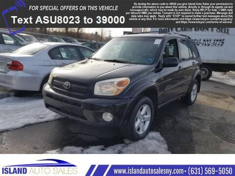 2004 Toyota RAV4 for sale at Island Auto Sales in E.Patchogue NY