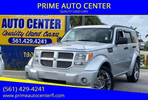 2007 Dodge Nitro for sale at PRIME AUTO CENTER in Palm Springs FL