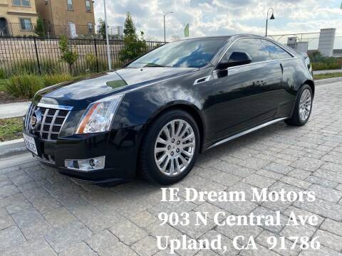2012 Cadillac CTS for sale at IE Dream Motors-Upland in Upland CA