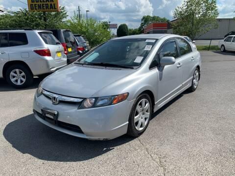 2008 Honda Civic for sale at Diana Rico LLC in Dalton GA