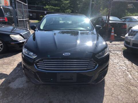 2014 Ford Fusion for sale at Six Brothers Auto Sales in Youngstown OH