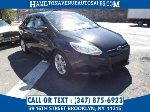 2014 Ford Focus for sale at Hamilton Avenue Auto Sales in Brooklyn NY