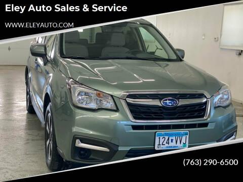 2017 Subaru Forester for sale at Eley Auto Sales & Service in Loretto MN