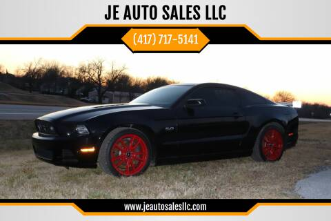 2014 Ford Mustang for sale at JE AUTO SALES LLC in Webb City MO