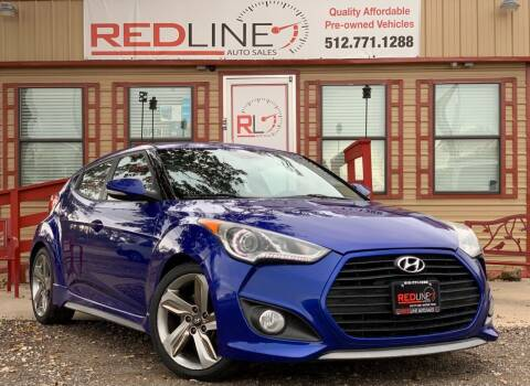 2013 Hyundai Veloster for sale at REDLINE AUTO SALES LLC in Cedar Creek TX