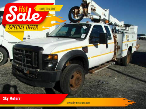 2008 Ford F-550 Super Duty for sale at Sky Motors in Kansas City MO