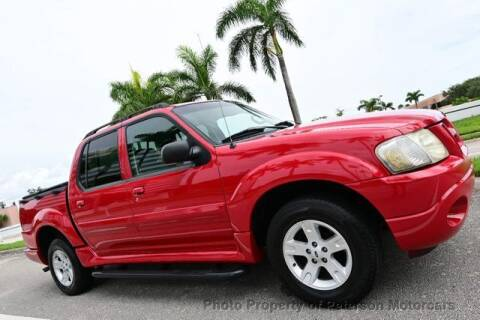 2005 Ford Explorer Sport Trac for sale at MOTORCARS in West Palm Beach FL