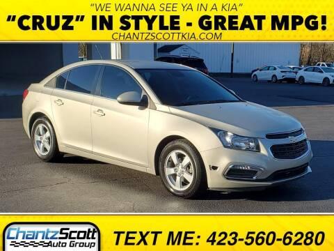2016 Chevrolet Cruze Limited for sale at Chantz Scott Kia in Kingsport TN