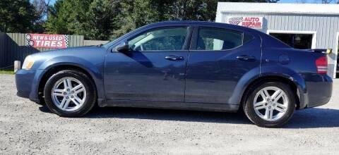 2008 Dodge Avenger for sale at Hilltop Auto in Prescott MI
