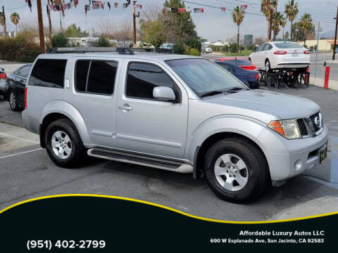 2006 Nissan Pathfinder for sale at Affordable Luxury Autos LLC in San Jacinto CA