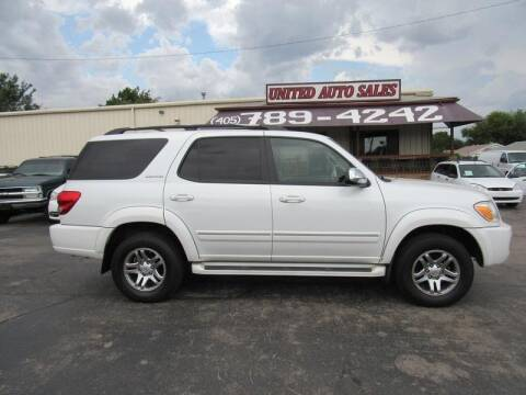 2007 Toyota Sequoia for sale at United Auto Sales in Oklahoma City OK