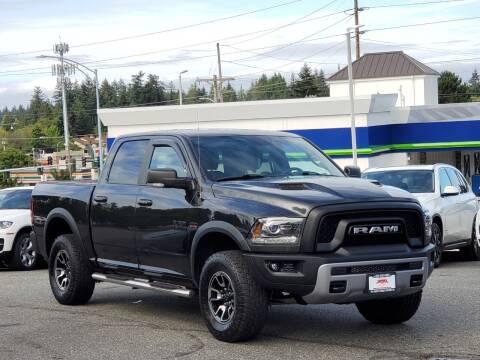 2016 RAM Ram Pickup 1500 for sale at SEATTLE FINEST MOTORS in Lynnwood WA