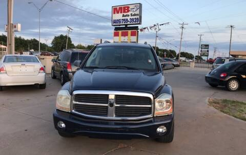 2005 Dodge Durango for sale at MB Auto Sales in Oklahoma City OK