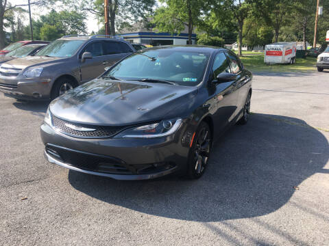 2015 Chrysler 200 for sale at K B Motors in Clearfield PA