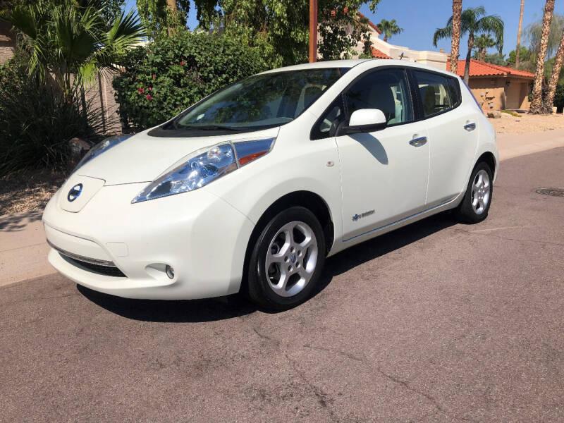 2011 Nissan LEAF for sale at Arizona Hybrid Cars in Scottsdale AZ