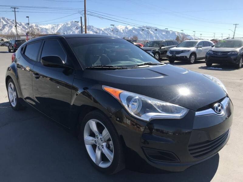 2014 Hyundai Veloster for sale at INVICTUS MOTOR COMPANY in West Valley City UT