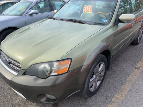 2005 Subaru Outback for sale at BURNWORTH AUTO INC in Windber PA