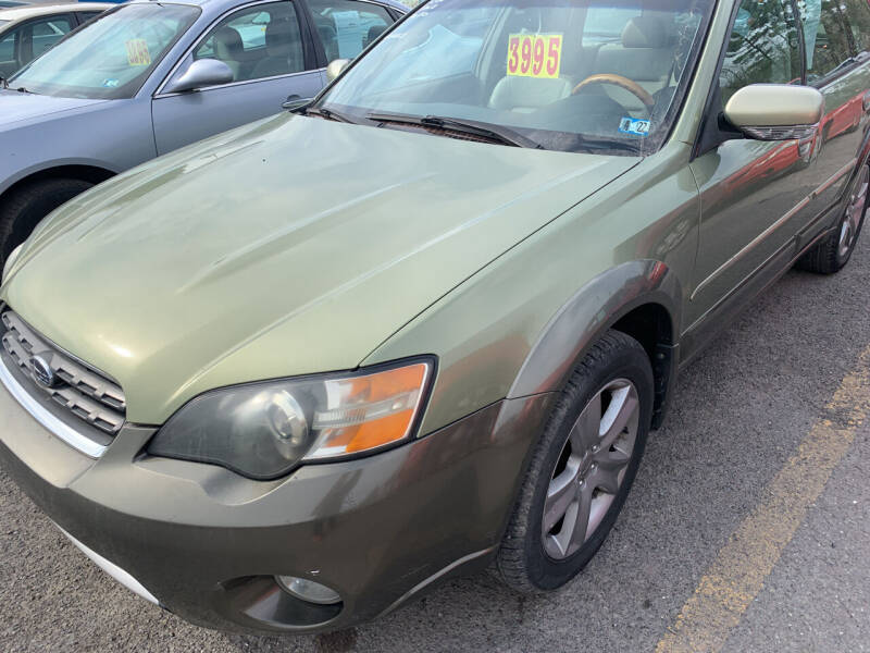 2005 Subaru Outback for sale at BURNWORTH AUTO INC in Windber PA
