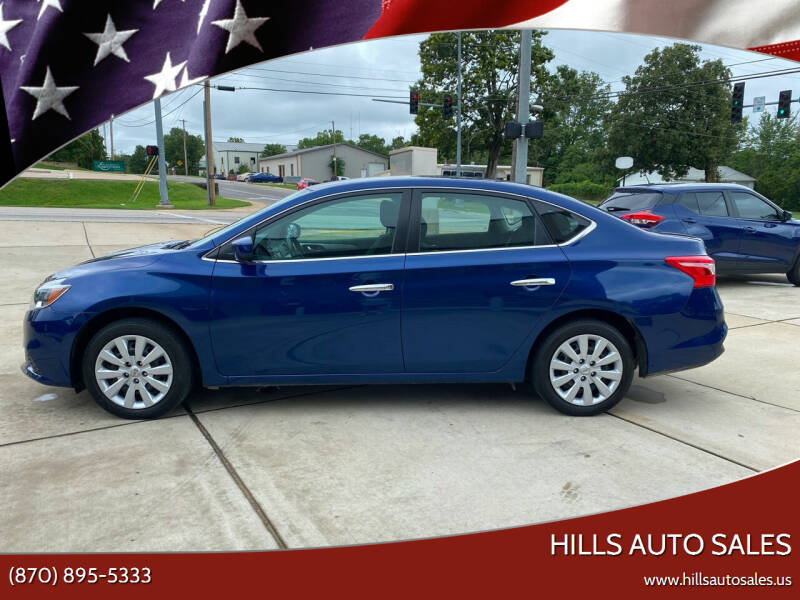 2019 Nissan Sentra for sale at Hills Auto Sales in Salem AR
