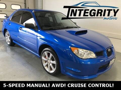 2007 Subaru Impreza for sale at Integrity Motors, Inc. in Fond Du Lac WI