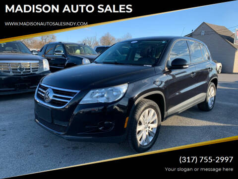 2010 Volkswagen Tiguan for sale at MADISON AUTO SALES in Indianapolis IN
