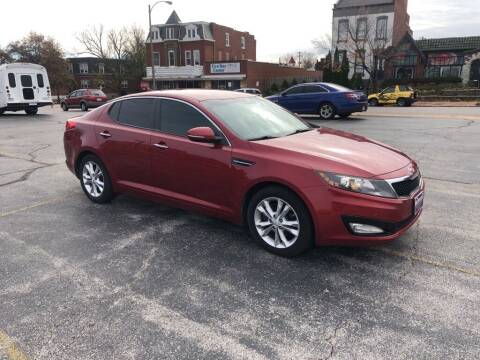 2012 Kia Optima for sale at DC Auto Sales Inc in Saint Louis MO