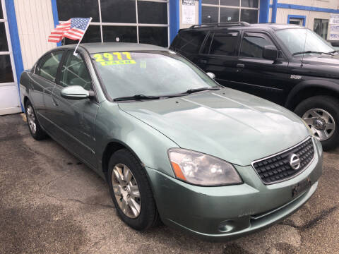 2006 Nissan Altima for sale at Klein on Vine in Cincinnati OH