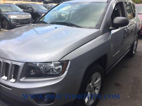 2017 Jeep Compass for sale at J & M Automotive in Naugatuck CT