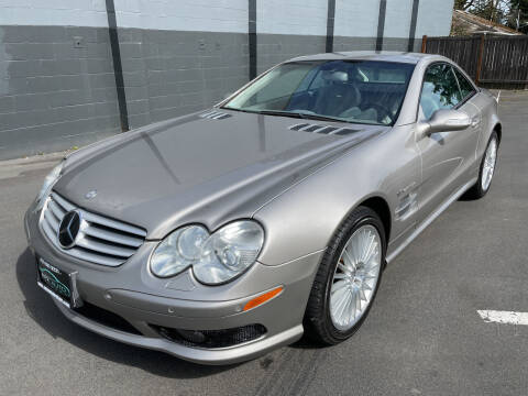 2003 Mercedes-Benz SL-Class for sale at APX Auto Brokers in Lynnwood WA