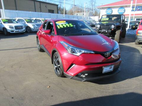 2018 Toyota C-HR for sale at Auto Land Inc in Crest Hill IL