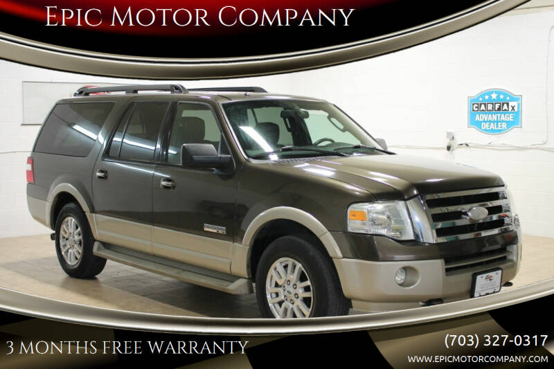 2008 Ford Expedition EL for sale at Epic Motor Company in Chantilly VA