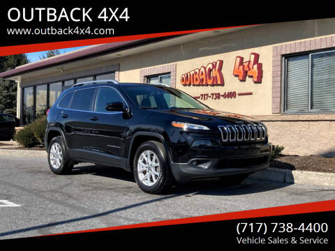 2018 Jeep Cherokee for sale at OUTBACK 4X4 in Ephrata PA