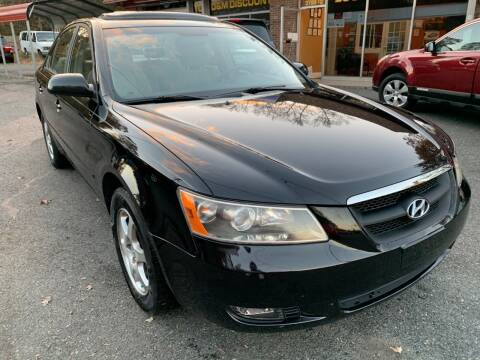2006 Hyundai Sonata for sale at D & M Discount Auto Sales in Stafford VA