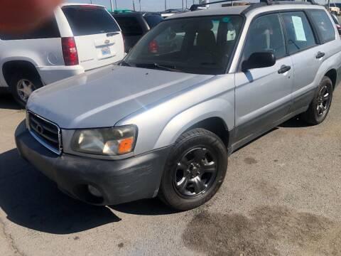 2003 Subaru Forester for sale at TTT Auto Sales in Spokane WA