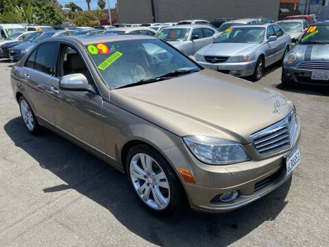 2009 Mercedes-Benz C-Class for sale at North County Auto in Oceanside CA