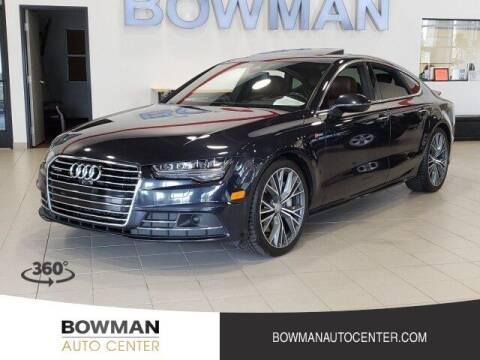 2017 Audi A7 for sale at Bowman Auto Center in Clarkston MI