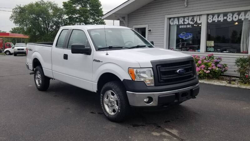 2014 Ford F-150 for sale at Cars 4 U in Liberty Township OH