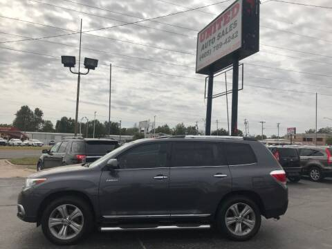 2013 Toyota Highlander for sale at United Auto Sales in Oklahoma City OK