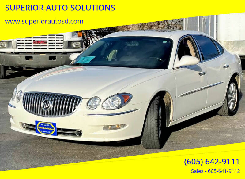 2008 Buick LaCrosse for sale at SUPERIOR AUTO SOLUTIONS in Spearfish SD