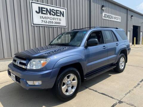 2005 Toyota 4Runner for sale at Jensen's Dealerships in Sioux City IA