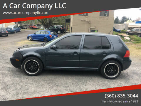 2005 Volkswagen Golf for sale at A Car Company LLC in Washougal WA