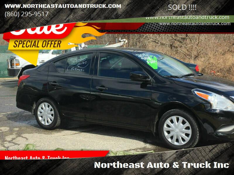 2016 Nissan Versa for sale at Northeast Auto & Truck Inc in Marlborough CT