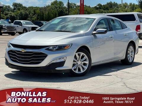 2021 Chevrolet Malibu for sale at Bonillas Auto Sales in Austin TX