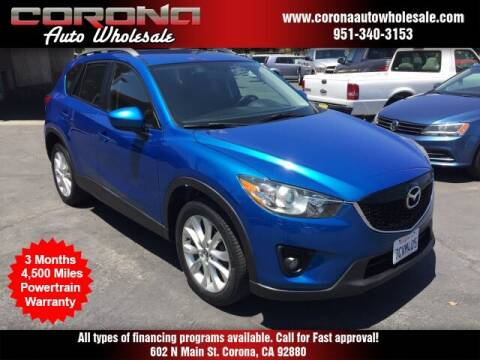 2014 Mazda CX-5 for sale at Corona Auto Wholesale in Corona CA