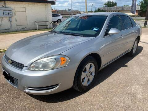 2006 Chevrolet Impala for sale at Rock Motors LLC in Victoria TX