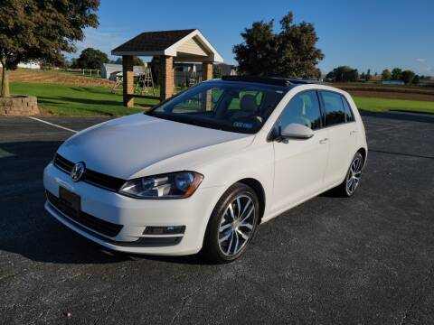 2016 Volkswagen Golf for sale at John Huber Automotive LLC in New Holland PA