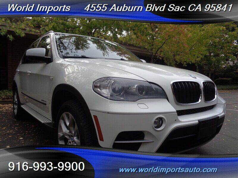 2012 BMW X5 for sale at World Imports in Sacramento CA