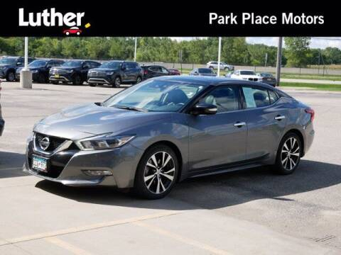 2018 Nissan Maxima for sale at Park Place Motor Cars in Rochester MN