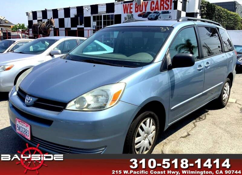 2005 Toyota Sienna for sale at BaySide Auto in Wilmington CA